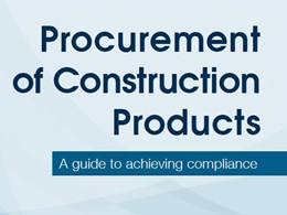 Free APCC guide to compliance in building products procurement now available