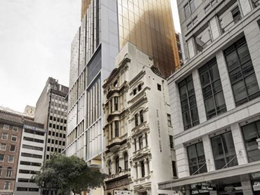 Jpw S Sydney Tower With Golden Crown To Neighbour Seidler