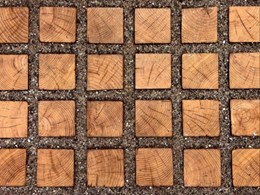 New timber permeable pavers ameliorate urban heat island effect