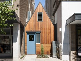 Sans Arc Studio slot timber-clad bar, courtyard and restaurant into vacant city block