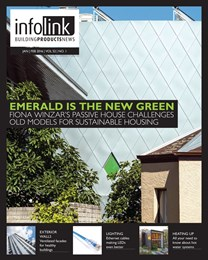 Emerald is the new green - 'Infolink-Building Products News' magazine out now