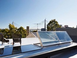 TILT's new automated skylights and hatches for architectural projects