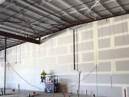 Coles takes centre-stage at new Perth retail complex with 320m² Kooltherm wall