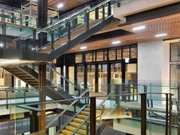 Water-based intumescent provides low environmental impact protection at UQ building