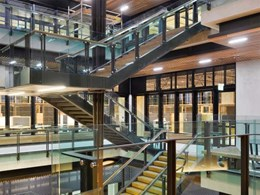 Nullifire offers high performance low environmental impact fire protection to GCI Building, UQ