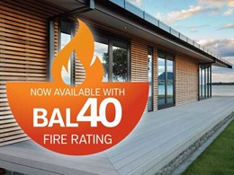 New Urbanline fire rated decking meets compliance without compromising on looks