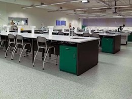 Accolade Plus vinyl flooring covers 14000m² in 7 custom colours at UTS