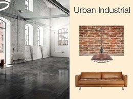 Get the Urban Industrial vibe in your home