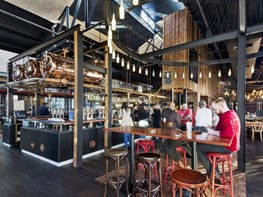 Six Degrees channel church architecture for Melbourne brewery overhaul
