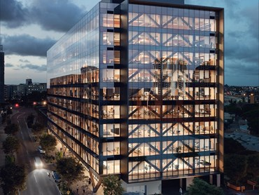 Construction Of World S Tallest Engineered Timber Office