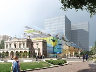 DA lodged for $89.5m redesign of Parramatta Town Hall