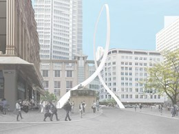 Junya Ishigami's $11.3m Cloud Arch sculpture approved at double its original size