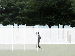 Visibility through invisibility: a translucent labyrinth wins NGV Architecture Commission 2017