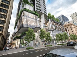 Green super-tower proposed for Brisbane's Queen Street Mall