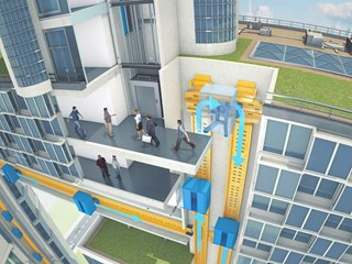 World's first rope-free elevator wins Gold for thyssenkrupp at Edison Awards
