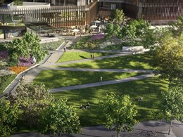 Water-lined steps and pocket piazzas to feature in Southbank's 'green heart'