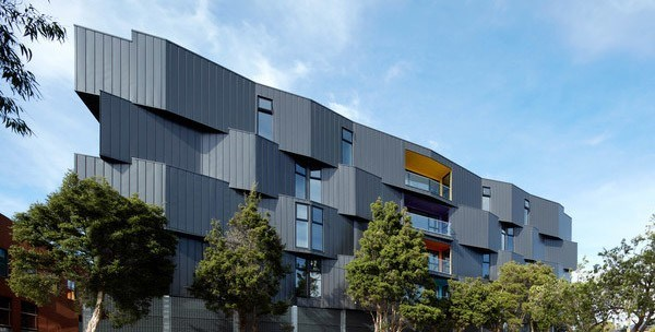 A full Spectrum of colour and articulation by KUD Architects