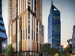 Empire Melbourne tops out ahead of schedule