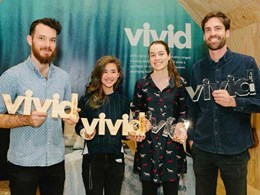 VIVID 2015 reveals the next generation of design talent with four award winners announced at Decor + Design