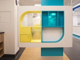 ABET high pressure laminates bring cheerful vibe to Adelaide hospital