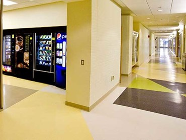 Nora floor covering at Wright State University