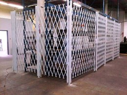 ATDC's innovative steel warehouse racking gates for effective inventory control