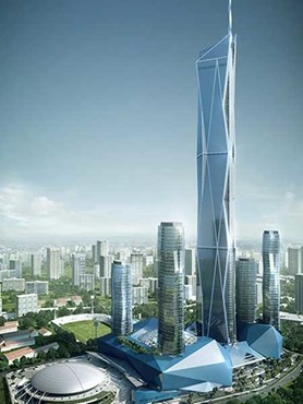 Fender Katsalidis Malaysian Megatall To Be 5th Tallest