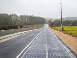 1km solar panel road to determine feasibility of technology