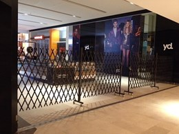 ATDC installs extendable gates at Westfield Fountain Gate, Melbourne