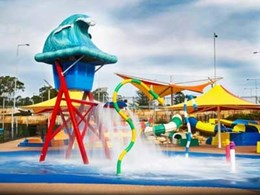 TPV rubber surface ensures safety and colour consistency at Wet'n'Wild Sydney