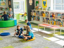 Retrofit turns school library into a multipurpose learning space