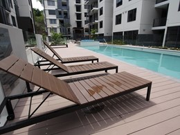 Jade Apartments low maintenance pool deck