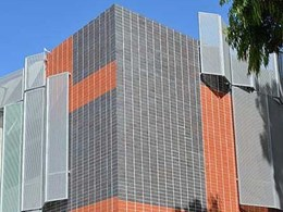 Robertson's brick inlay system helps create striking facade for East Melbourne hospital