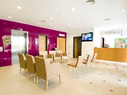 Altro floors and walls create comfortable setting at Irish women's health clinic