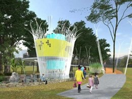 Wicker basket-inspired public toilet design wins Designer Dunny competition