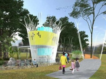 Wicker basket inspired public toilet design wins Designer Dunny competition  Architecture And Design