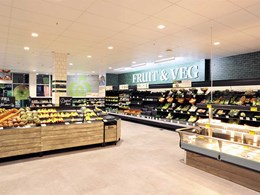 Gyprock Freshtone ceiling tiles offer a sleek finish at Woolworths supermarkets