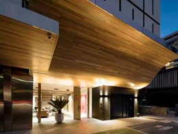 Timber adds warmth, colour and texture to Yarra House apartments