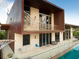 Copper roof and facade from ZC Technical installed on Byron Bay residence