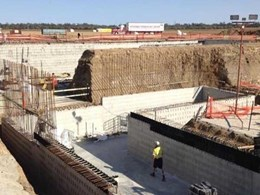 Case Study: Cotton gin external walls built with ZEGO ReFORM formwork system