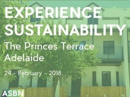 Event: Showcasing sustainable design at The Prince's Terrace Adelaide on 24 Feb