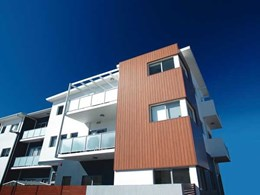 Canberra architect turns to Urbanline's Euro Clad composite cladding for enduring facade on apartment
