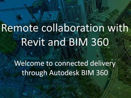 Autodesk BIM 360 allowing remote collaboration for Revit users