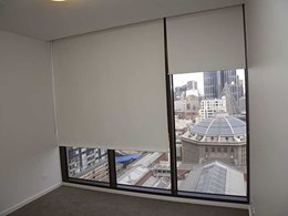 3700 roller blinds installed at Melbourne apartments