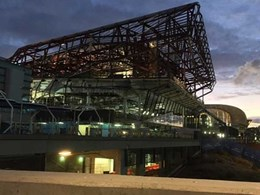 Promat's intumescent coating meets BCA fire requirements at Adelaide Convention Centre