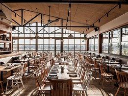 2020 Sustainability Awards Commercial Architecture (Small) winner: Acre Farm Eatery by ZWEI Interiors Architecture & NH Architecture