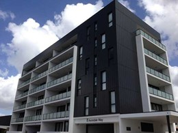 Pre-painted aluminium cladding installed on The Mill Apartments in Eastwood NSW