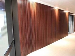 ANZ Queensland Head Office fitout features Ultraflex ceiling and wall panels
