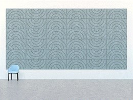 Presenting unlimited design possibilities with two new acoustic panels