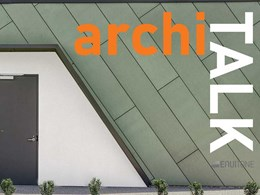 Introducing archiTALK: Conversations on design and construction trends